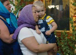 У бабушки на руках