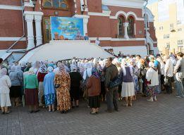 На соборном дворе