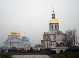 Вид с Канавки на соборы