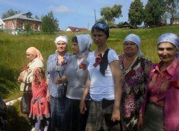 В селе