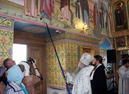 Помазание храмовых стен
