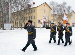 Знамя на марше