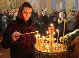 У свечей