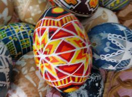 Пасхальное яйцо - крапанка