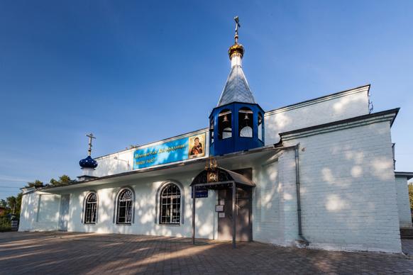 Церковь Владимирской Божией Матери в поселке Народном