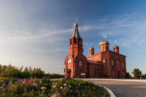 Церковь Новосормовское кладбище