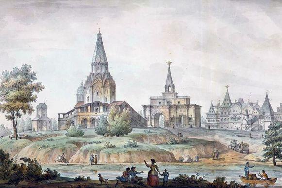 Коломенское на Москва реке