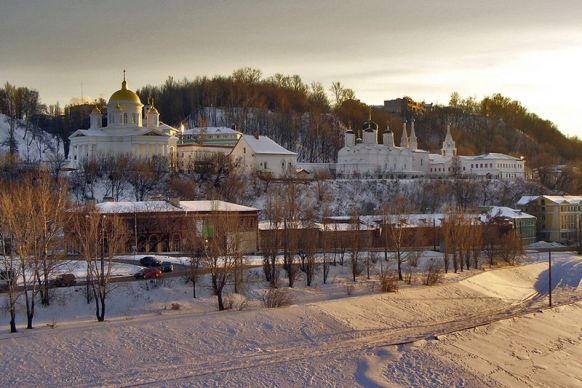 Древний Нижегородский монастырь