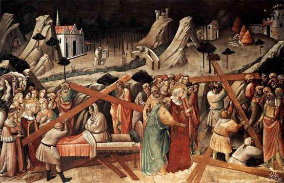 Крестовоздвижение фреска