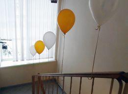 Праздник начинается с лестницы