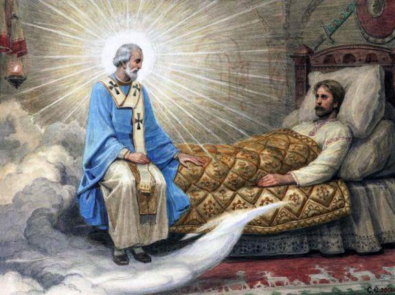 Чудесное исцеление больного Святителем Николаем