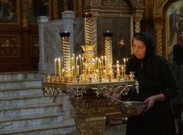Послушание при свечах