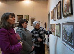 На выставке Пугачёвой