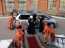 Встреча митрополита