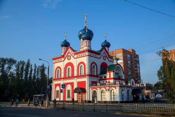 Храмы православного Сормова