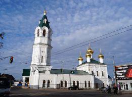 Вид на церковь с ул КИМа