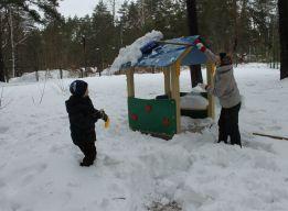 Снег с крыши долой!
