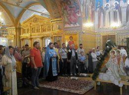 Молебен у Троицы