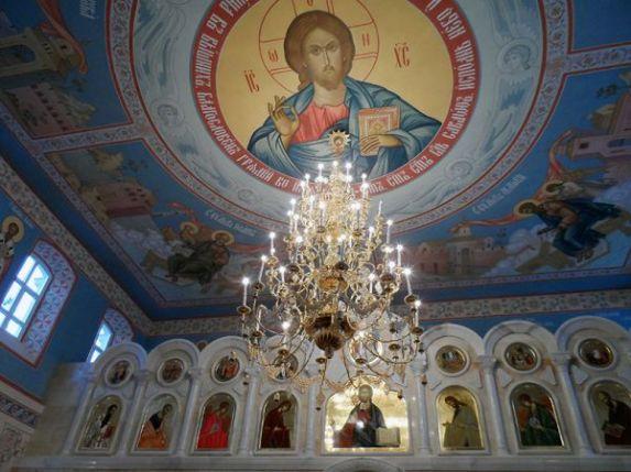 Возрожденная Александро-Невская церковь