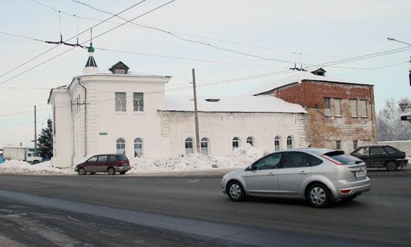 Начало восстановления Троицкой церкви