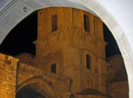 Храм св. Лазаря ночью