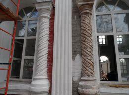 Реставрация декора окон 1 этажа
