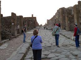 На улицах Помпей