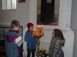 Свечи Преподобному