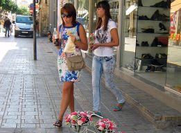 На торговых улицах