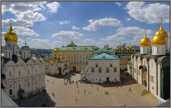 Святые места Москвы