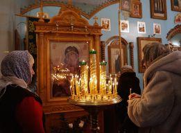 У Владимирской Богоматери